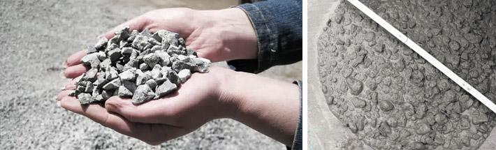 Количество щебня для изготовления бетона