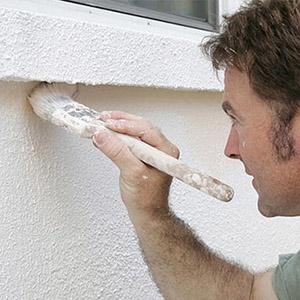 Обзор красок для нанесения на бетонный фасад дома