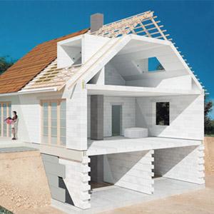 Обзор проектов газобетонных домов