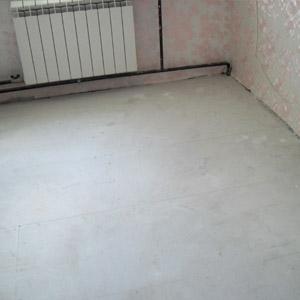 От чего зависит цена монтажа бетонной стяжки пола