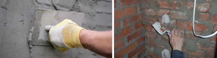 Выравнивание стен своими руками цементом 43