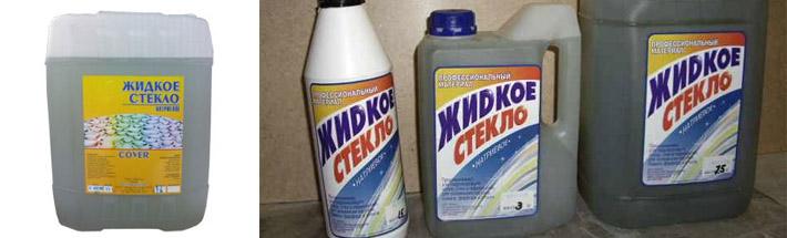 Применение жидкого силиката