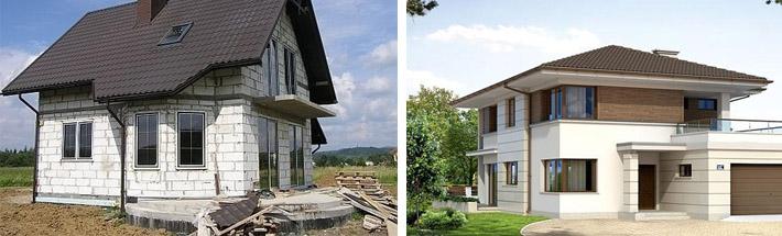 Проекты дачных частных домов с мансардой 6х8