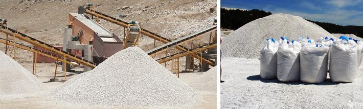 Производство песка из кварца