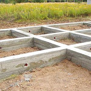 Расчет ленточного фундамента - определяем количество бетона