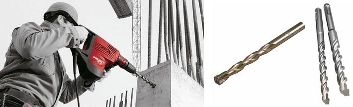 Сверление бетонных конструкций