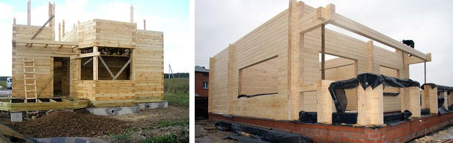 Строительство дома на свайном фундаменте