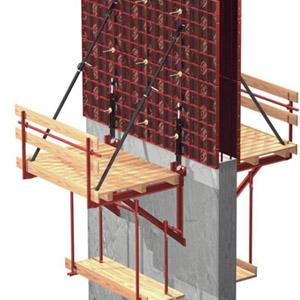 Строительство и ремонт наклонных плоскостей при помощи подвижной опалубки