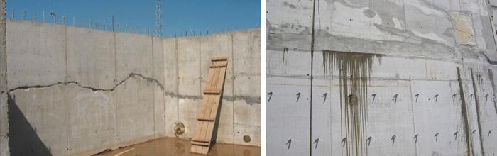 Стыки в бетонных конструкциях
