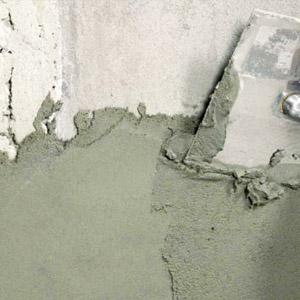 Технология штукатурки стен цементным раствором