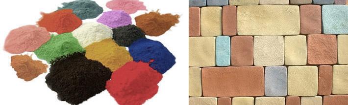 Цветные бетонные изделия