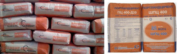 Цементный состав М400