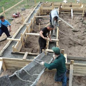 Цена проведения бетонных работ