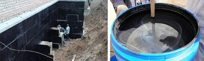 Гидроизоляция фундамента обмазочная цена обмазочная гидроизоляция на фили