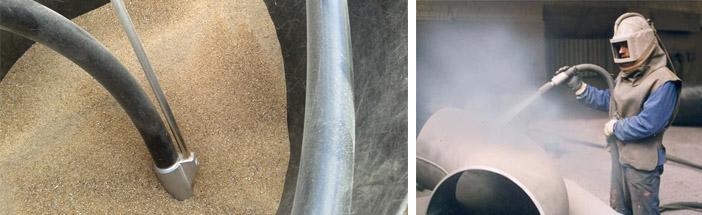 Абразивы для пескоструйной обработки