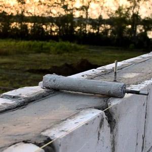 Армированный пояс для газобетонных блоков