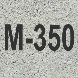 Бетон марки М350 класса B25