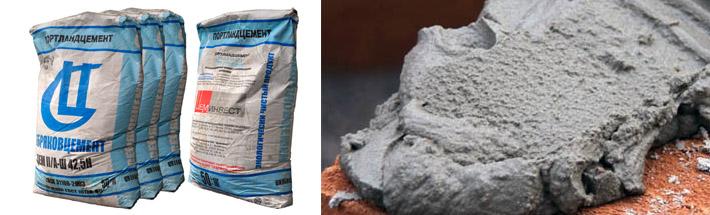 Виды цементных составов