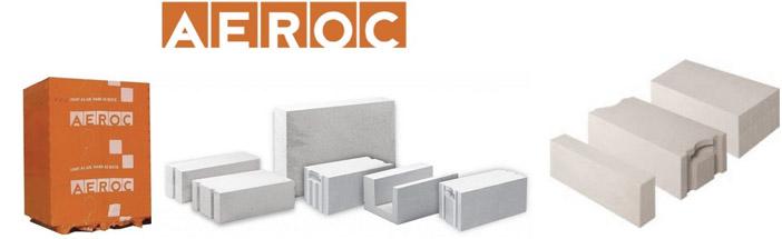 Газобетонные изделия Aeroc