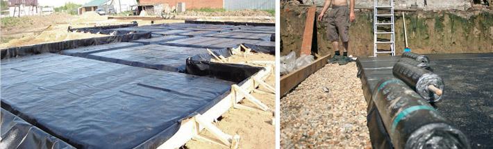 Вод стоимость гидроизоляция работ подвала грунтовых от изнутри