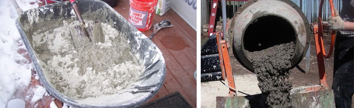 Как замешивается цементный состав