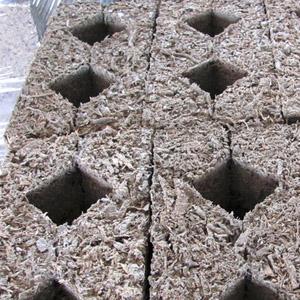 Как изготавливаются арболитовые блоки