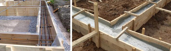 Как подобрать фундамент для банной постройки