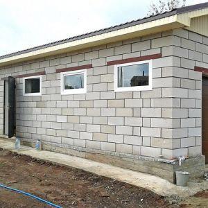 Как самостоятельно построить гараж из газоблоков