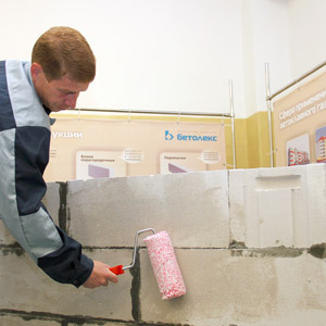 Материалы и способы оштукатуривания газобетона