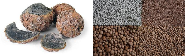 Особенности керамзитового заполнителя