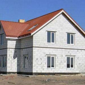 Поэтапное возведение дома из газобетона