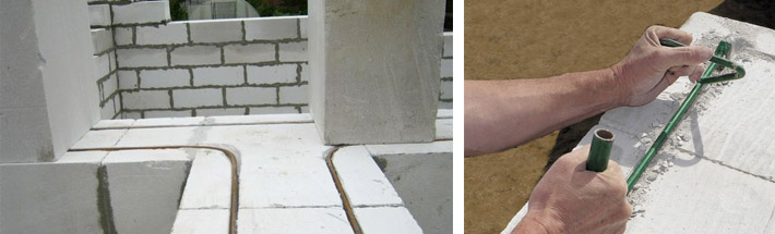 Masonry regulations for aerated concrete