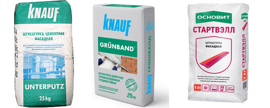 Продукция Knauf и Основит