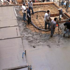 Соотношение песка и цемента в смеси для фундамента