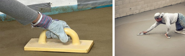 Укрепление бетонных стяжек