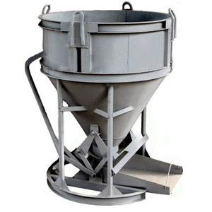Бадья для хранения бетонных смесей