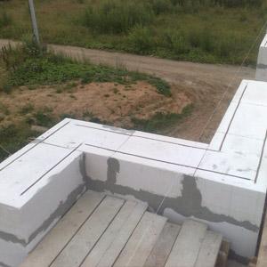 Блоки для наружных и несущих внутренних стен