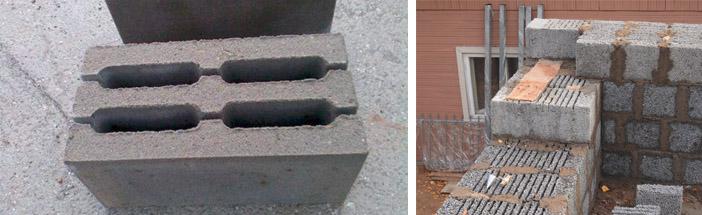 Блоки на основе керамзита