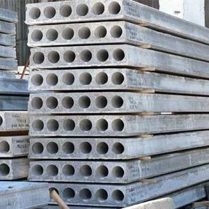 Железобетонные плиты перекрытия многопустотные