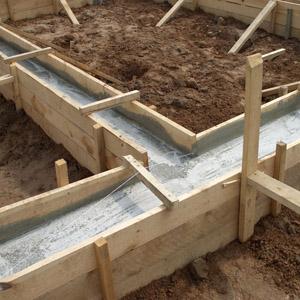 Заливка фундамента под дом своими силами по шагам