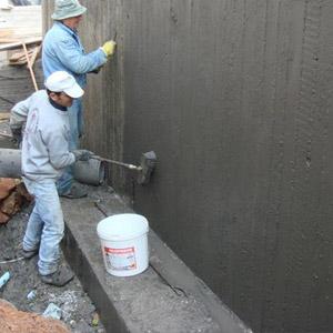 Защита бетонных поверхностей при помощи антисептика