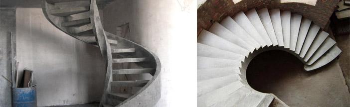 Как выглядит винтовая лестница