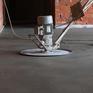 Как отшлифовать пол из бетона