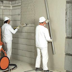 Как своими руками штукатурить стены из пеноблоков
