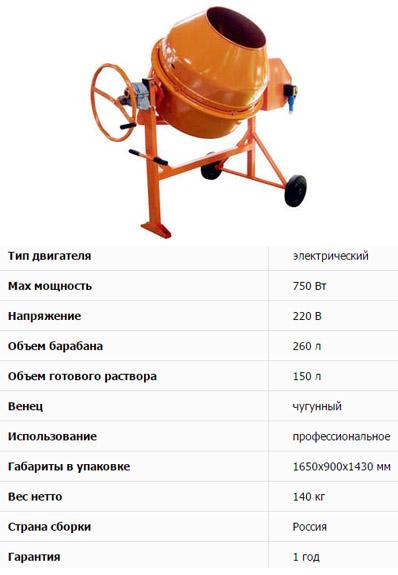 Лебедянь СБР-260В-01-220
