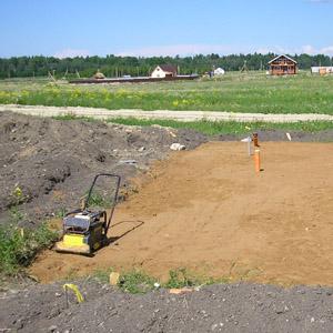 Обзор способов уплотнения песка