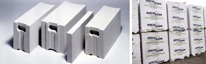 Особенности строительных блоков