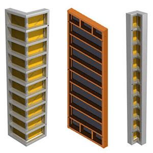 Применение опалубки для стен в монолитном строительстве