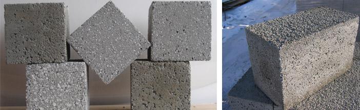 Применение полистиролбетонных блоков