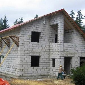 Проекты домов из шлакобетонных блоков и расценки